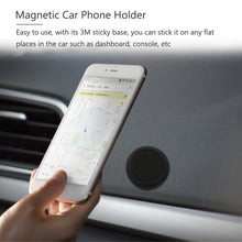 Load image into Gallery viewer, AOZBZ Magnetic Car Phone Holder Bracket Stand for Samsung/iPhone /Huawei Accessories GPS Stent Stick on Flat Dashboard