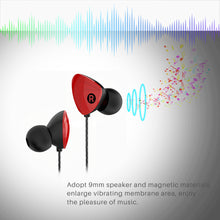 Load image into Gallery viewer, FORNORM Inear Earbuds Stereo Earphone Hands Free Sports Earphone With HD Microphone for Smartphone Iphone MP4 Tablet PC