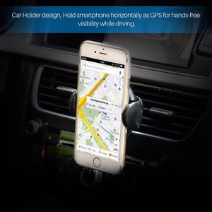 FORNORM Universal Qi Wireless Charger Car Phone Holder  With Magnet  Car Phone Holder For iPhone Smartphone