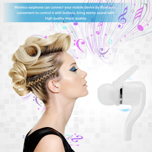 Powstro Earphone Wireless Bluetooth V4.1 Stereo Earpiece Outdoor Sport Earbud Handsfree with Microphone for iPhone Samsung