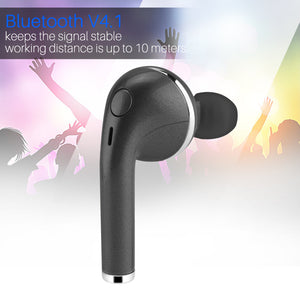 FORNORM Mini Bluetooth Earphone Multi-point Pairing Wireless Bluetooth Headset With Mic Handsfree Call For iPhone Smartphone