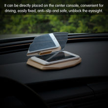 Load image into Gallery viewer, Car HUD Head Up Display Projector Phone GPS Navigation Holder Bracket Multifunctional Reflection Projector for iPhone Samsung