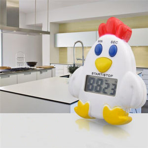 Chicken Timer with Magnet Electronic Timer Countdown Device for Sleeping Cooking Reminder