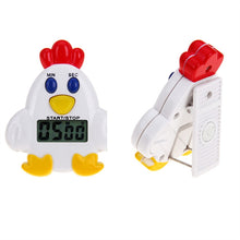 Load image into Gallery viewer, Chicken Timer with Magnet Electronic Timer Countdown Device for Sleeping Cooking Reminder