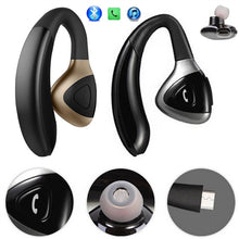 Load image into Gallery viewer, Car Truck Driver Bluetooth Headset Office Bluetooth Headphone Earbuds Wireless Earpiece for iPhone Samsung Galaxy Android Phones