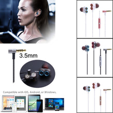 Load image into Gallery viewer, 3.5mm In-Ear Earphone Bass Stereo Headphones Headset Earbuds With Mic For iPhone