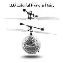 Load image into Gallery viewer, RC Flying Ball Drone Helicopter Ball Built-in Shinning LED Lighting for Kids Toy
