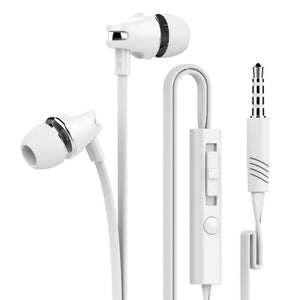 For iPhone 3.5mm Piston In-Ear Stereo Earbuds Earphone Headset Headphon
