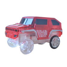 Load image into Gallery viewer, Electronics Special Car for Magic Track Toys With Flashing Lights Educational