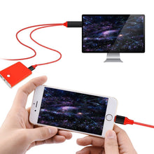 Load image into Gallery viewer, Lightning to HDMI cable with charging for Iphone, Ipad, Itouch