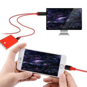 Lightning to HDMI cable with charging for Iphone, Ipad, Itouch