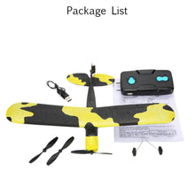 Load image into Gallery viewer, TECHBOY TB-366 2.4G 2CH Remote Control RC Airplane 345mm Wingspan EPP Mini Fox Glider Drone