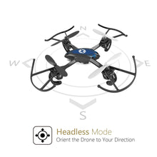 Load image into Gallery viewer, Holy Stone HS170 Predator Mini RC Helicopter Drone 2.4Ghz 6-Axis Gyro 4 Channels Quadcopter Good Choice for Drone Training