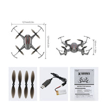 Load image into Gallery viewer, MJX X904 Drone Headless Mode and One Key Return Function 2.4GHz 4 CH 6 Axis Gyro RTF RC Quadcopter Grey
