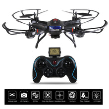 Load image into Gallery viewer, Holy Stone F181C RC   Drone Quadcopter with HD Camera RTF 4 Channel 2.4GHz 6-Gyro with Altitude Hold Function,Headless Mode and One Key Return Home, Color Black
