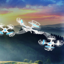 Load image into Gallery viewer, RC TOWN DRAGONKNIGHT 1 Quad-copter FPV Drone with Wifi Camera Live Video Headless Mode 2.4GHz 4 Chanel 6 Axis Gyro RTF RC Quadcopter, Compatible with 3D VR Headset