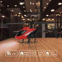 Load image into Gallery viewer, Electric Flying Toys 3.5 Channel Mini RC Helicopter Toys Remote Control Drone Radio Gyro Aircraft Plane Kids Toys XY803