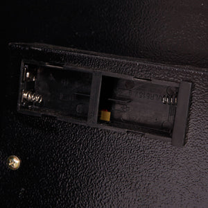 E50EA Home Use Electronic Password Steel Plate Safe Box Black