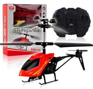 Remote Control Helicopter Drone 2 Channel Indoor Remote Control Airplane and Gyro Radio Control Toy