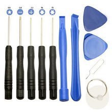 Load image into Gallery viewer, 11 in 1 Universal Opening Pry Repair Screwdrivers Tools Set Kit For IPhone