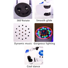 Load image into Gallery viewer, Electronic Music Dazzling Light Dancing Rotating Robot Children Toy Birthday Gift