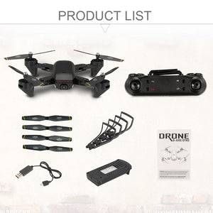 New DM IN107S 2.4G 4CH Wifi FPV Foldable Selfie RC Quadcopter Drone -RTF