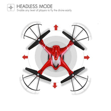 Load image into Gallery viewer, Holy Stone HS200 RC Drone with FPV HD Wifi Camera Live Feed 2.4GHz 4CH 6-Axis Gyro Quadcopter with Altitude Hold, Gravity Sensor and Headless Mode RTF Helicopter