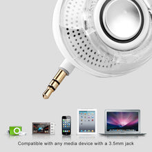 Load image into Gallery viewer, Mini Smartphone 3.5mm Aux Speaker Rechargeable Compact Loudspeaker Powerful Clear Bass Plug And Play for iPhone iPad