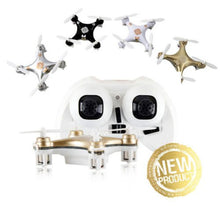 Load image into Gallery viewer, 2015 New Arrival Head-care-free Micro RC Quadcopter Mini MAV Quad Q4 Nano Drone w/LED RTF Toys Black color
