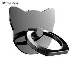 360 Degree Finger Ring Mobile Phone Smartphone Stand Holder For Iphone Ipadall Smart Phone Luxury Couple Models