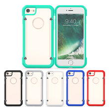 Load image into Gallery viewer, Protection Case PC Backboard for IPhone 7/8 TPU Border Hard Anti-drop Beetle Protective Case