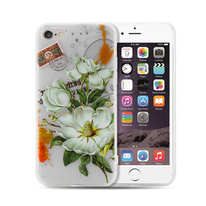 Slim Soft TPU Phone Cover Frosted Back Case Shockproof Suit for IPhone 6 6S 4.7 inch