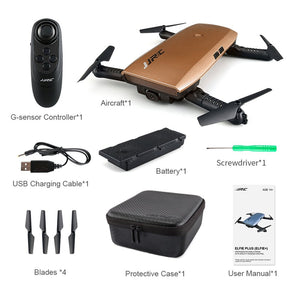 H47 RC Drone With Camera 720P G-Sensor Control WIFI Function Selfie Drone Foldable Arm Quadcopter Headless Mode Altitude Hold