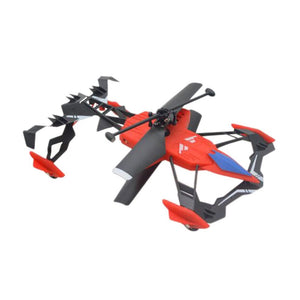 Multifunction Mini Drone 2CH Air-Ground RC Flying Car Dual Mode Air RC Helicopter Quadcopter Toys For Children