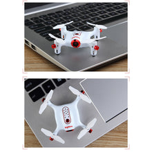 Load image into Gallery viewer, X20W Mini Headless Quadcopter RC Pocket Drone with 0.3MP Camera for Beginner