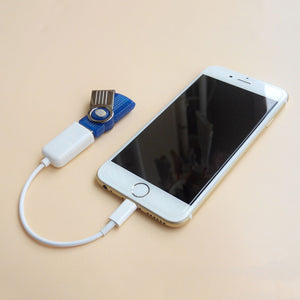 iphone USB OTG Cable Adapter Dock Connector less than IOS 10.2 for ipad Tablet