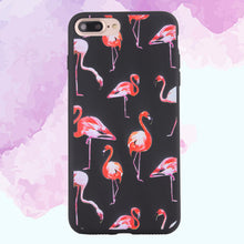 Load image into Gallery viewer, Fashion Flamingo Matte Soft Ultrathin TPU Case Phone Case Shell for iPhone 7 Plus