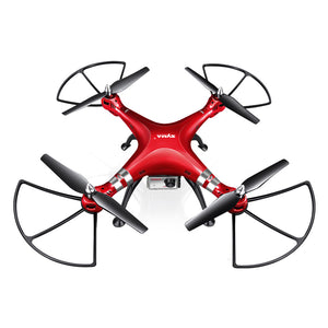 X8HG RC Quadcopter Drone 2.4G 4 Channel 6 Axis Gyro Camera Quadcopter with 8MP 1080P HD Camera Drone and High Hold Mode EU Plug