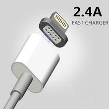 Load image into Gallery viewer, 2.4A High Speed Charging Magnetic Cable for iPhone & Android Devices