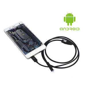 Wireless Endoscope WiFi Borescope Inspection Camera for iPhone & Android