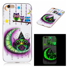 Load image into Gallery viewer, For  IPhone 6/6S IMD Fluorescence Mobile Phone Case Soft TPU Border Protective Shell Colored Painting
