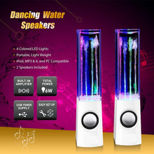 Load image into Gallery viewer, Colorful LED Dancing Water Fountain Light Show Sound Speaker for Laptops Smartphone iPhone iPad