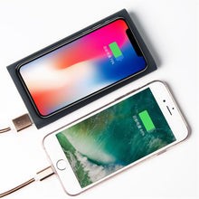 Load image into Gallery viewer, Qi Wireless Charging Power Bank High Capacity 10000 mAh Portable Power Bank and Wireless Charger for iPhone 8 iPhone X and All the Qi Enabled Decices