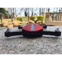 Load image into Gallery viewer, Premium 2.4GHz Pocket Mini Selfie Foldable Drone Camera RC Quadcopter Drone 30W WiFi Image Pixels