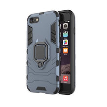 Load image into Gallery viewer, Hybrid Combo Rugged Phone Case Heavy Duty Shockproof Ring Holder Case Hard Back Cover for iPhone