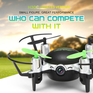 JJRC H30CH Altitude Hold HD Camera RC Quadcopter Drone With 2.0MP Camera BK