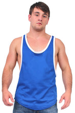 Load image into Gallery viewer, Dri Fit Tank Top 2 Tone Racer Back Royal