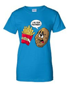 Juniors Funny Potato to Fries: I Am Your Father!