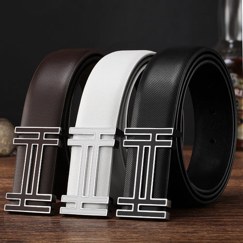 New Arrival designer belts mens high quality cowskin Leather straps luxury brand