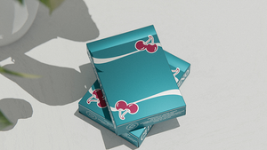 Cherry Casino Playing Card (Tropicana Teal)